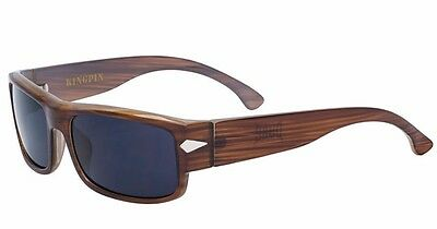 Authentic Dyse One Shades KingPin Wood Sunglasses California Lowrider Locs (California Shades)