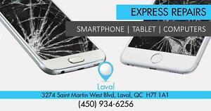 Reparation iPhone, Samsung, Motorola, HTC, Sony, BlackBerry, Nokia, Sony - iPad - iPod - Tablettes