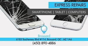 Brossard Store:6185 Boulevard Tashereau : Reparation iPhone, Samsung, Motorola, HTC, Sony, BlackBerry, Nokia, Sony -iPad