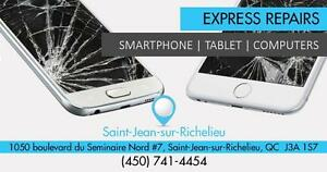 Reparation iPhone, Samsung, Motorola, HTC, Sony, BlackBerry, Nokia, Sony - iPad - iPod - Tablettes