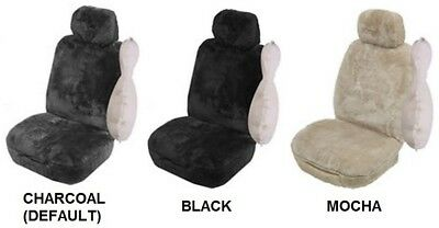 SINGLE 27mm SHEEPSKIN ALL OVER CAR SEAT COVER FOR AUSTIN HEALEY 3000 MK I