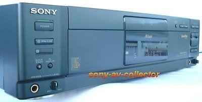 Sony MDP-650 Auto Reverse MultiDisc CD CDV LD LaserDisc AV Laser Player ES EX