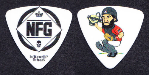 New Found Glory Ian Grushka Baseball Catcher Guitar Pick - NFG - 2016 Tour