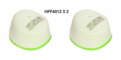 <em>YAMAHA</em> YZ125 YZ250 HIFLOFILTRO AIR FILTER FITS YEARS 1997 TO 2017  HF