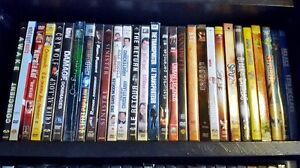 Over 200 DVDs for Sale