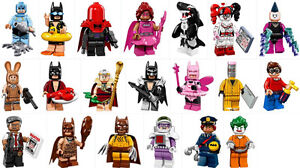 Lego Batman Movie Minifigs Labeled Sealed Packs