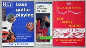 Bass Guitar Tuition Books