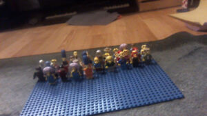 Selling Assorted Lego Minifigures