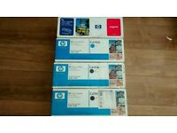 4 x Original (sealed) HP Toner Cartridges for HP 4500~4550 Series