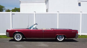 61 Lincoln Continental Convertible