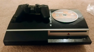 ¤¤¤Fat 40gb Sony PS3 full working with Six Axsis & 9 games¤¤¤
