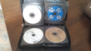 Hip hop cd collection and case