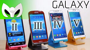 Achat de telephone Samsung Galaxy S5, S4, S3, S2, Note2, Note3,.