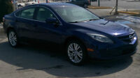 2009 Mazda Mazda 6 GS Berline en excellente condition negociable