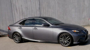 2014 LEXUS IS350 F-SPORT PREMIUM ** RARE RWD 8 SPEED **