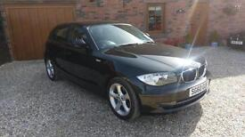 2010 BMW 116 2.0 SPORT 5 DOOR BLACK