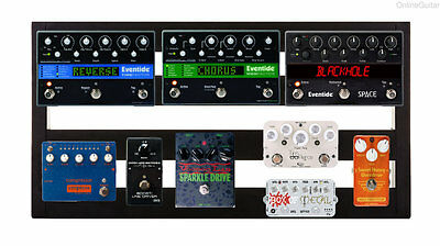 PEDALTRAIN CLASSIC 2 PEDALBOARD w/ SOFT CASE & VOODOO LAB PEDAL POWER + MOUNTED