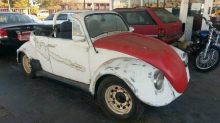 1966 VOLKSWAGEN BEETLE CONVERTIBLE PROJECT CAR Hendon Charles Sturt Area Preview
