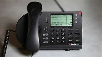 Shoretel Ip230   Refurbished   Black W  New Patch And Handset Cable