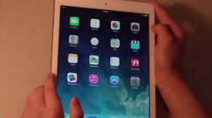 apple ipad air for sale $275 its 32 g model comes with charger,