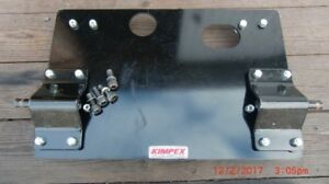Snow Plow adapter Plate ( 2009 Yamaha 550 Grizzly )