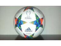Champions league match ball
