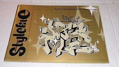 """Graffiti Magazine """"STYLEFILE"""" #20 03/2006 Goldfile Montana Belton Trains Walls"""