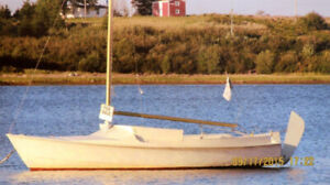 Exceptional price for 17-ft. sailboat in good condition