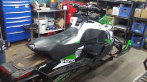 Parting Out 2009 Arctic Cat F8 Sno Pro