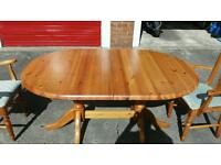 Pine dining table