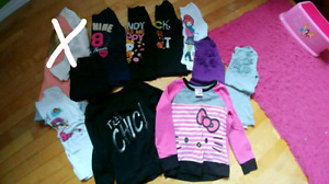 Girls shirts and pants (size 5)