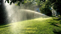 Lawn sprinkler system irrigation