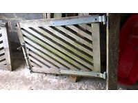 Pair of Solid Oak Gates for sale