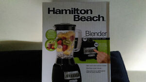 Hamilton Beach Blender 48 OZ Capacity Jar 500 Watt Motor