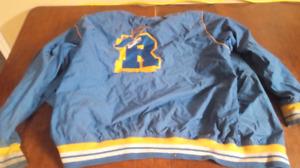 Vintage rocawear bomber style windbreaker jacket.