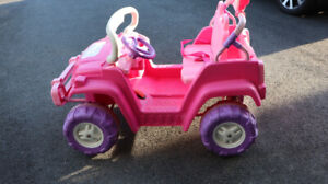 Child's Jeep - Princess Dream Dazzler 4x4