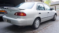 2001 Toyota Corolla CE NEW TIRES - CLEAN TITLE OBO