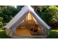 Soulpad 3000 Ultralite bell tent used once