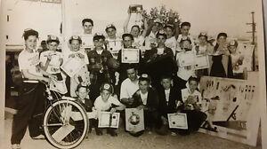 Vintage Team Photo,Vancouver Sun,Bellevue Hotel.Mission,BikeRace