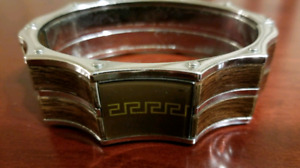 VERSACE Stainless Steel Bracelet for Men--in the Best Condition