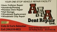 GOT HAIL? AAA Dent Repair Ltd Can Fix it!