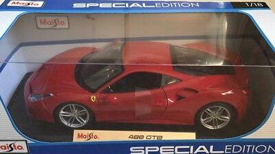 1/18 Maisto Ferrari 488 GTB