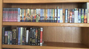 Complete Collection of Bernard Cornwell DVDs and Books