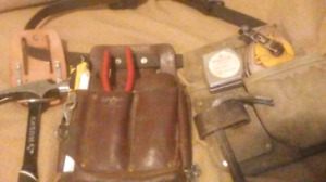 Tool belt ready for work
