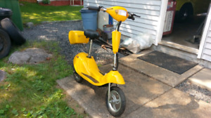 Yellow Scooter