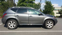2007 NISSAN MURANO SE LEATHER, SUNROOF, BACK UP CAM, SAFETIED!!!