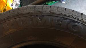 Kumho Solus KL21 235/65R17 103T M+S all-season tires - set of 4