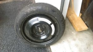 New Donut Spare Tire and Rim