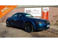 2005 55 AUDI TT 1.8 T 3D 177 BHP BLUE METALLIC, GENUINE 89K
