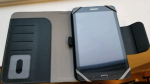Samsung Galaxy Tab E SM-T377W (plus case)